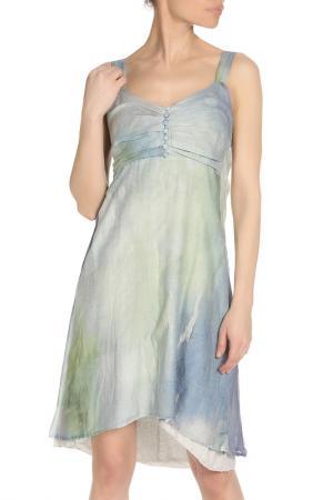 Изящное летнее платье LEIDIRO. Цвет: голубой