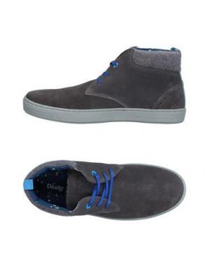 Высокие кеды и кроссовки DESIGUAL. Цвет: серый