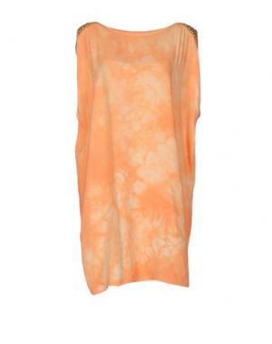 Короткое платье MONICA •LENDINEZ. Цвет: оранжевый