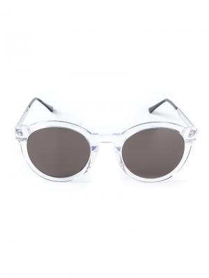 Солнцезащитные очки Zomby 5481 Thierry Lasry. Цвет: телесный