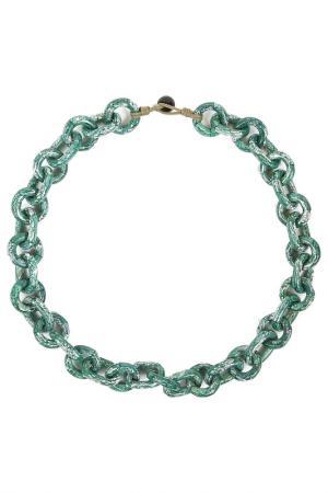 Ожерелье Serpui Marie. Цвет: зеленый
