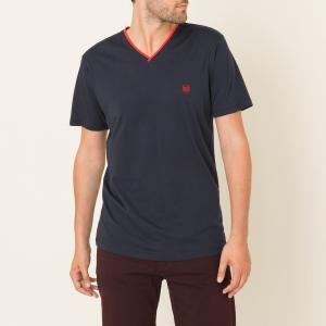 Однотонная футболка THE KOOPLES SPORT. Цвет: темно-синий