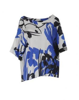 Блузка ATTIC AND BARN. Цвет: синий