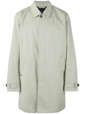 Пальто на пуговицах Z Zegna. Цвет: телесный