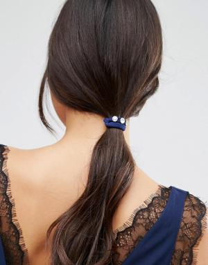 ASOS 3 резинки для волос с камнями. Цвет: мульти