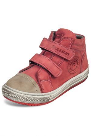 Ботинки Puledro. Цвет: красный