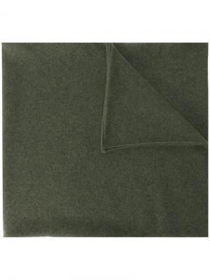 Шарф No 15 Extreme Cashmere. Цвет: зелёный