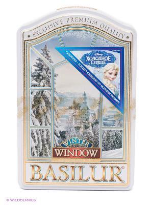 Чай Basilur ОКНА Зима Winter. Цвет: белый