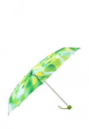 Зонт складной Zest. Цвет: зеленый