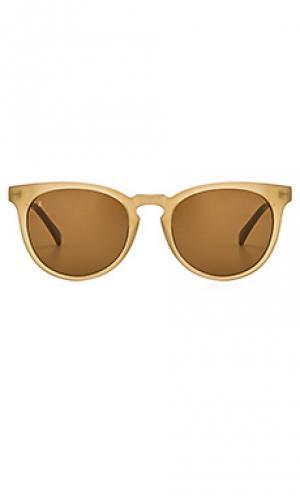 Солнцезащитные очки montara RAEN. Цвет: оливковый