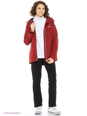 Куртка Guahoo. Цвет: красный