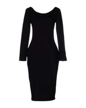 Платье до колена CHARLI. Цвет: черный