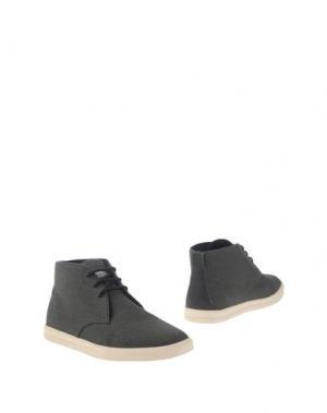 Полусапоги и высокие ботинки CLAE. Цвет: стальной серый