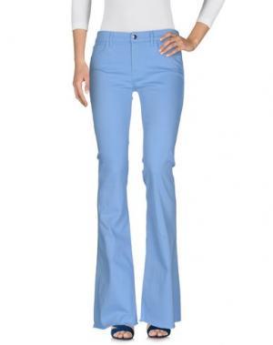 Джинсовые брюки THE SEAFARER. Цвет: небесно-голубой