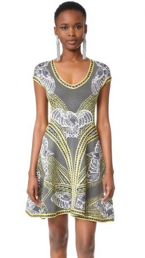 Платье Anita Herve Leger. Цвет: классический синий