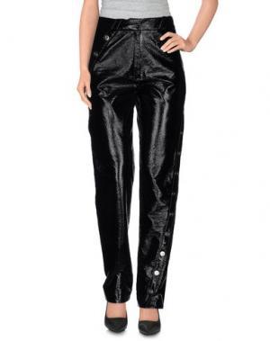 Повседневные брюки COURRÈGES. Цвет: черный