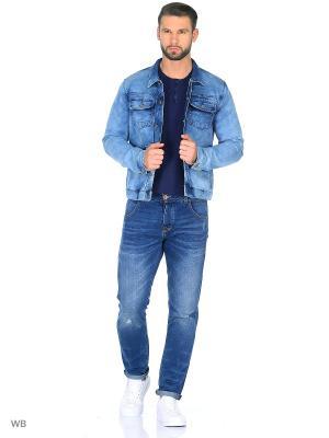Куртка Japan Rags. Цвет: синий