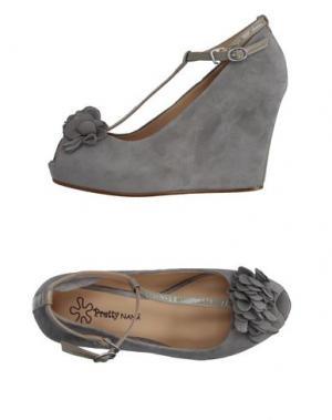 Туфли PRETTY NANÃ. Цвет: серый
