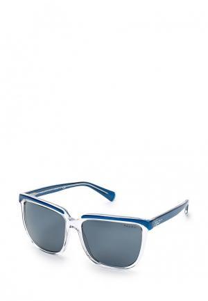 Очки солнцезащитные Ralph Lauren. Цвет: прозрачный