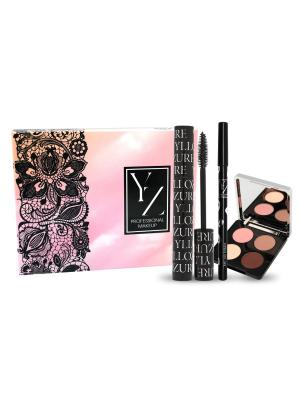 Подарочный набор YZ ИЛЛОЗУР. Цвет: черный, бежевый, коричневый