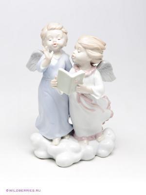 Фигурка Ангелочки Pavone. Цвет: белый