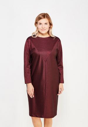 Платье Profito Avantage. Цвет: бордовый