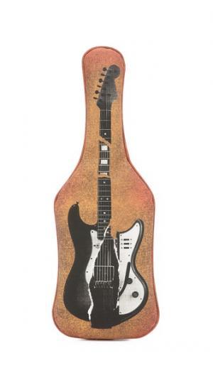 Клатч с изображением гитары MM6