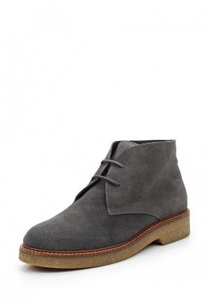 Ботинки La Coleccion. Цвет: серый