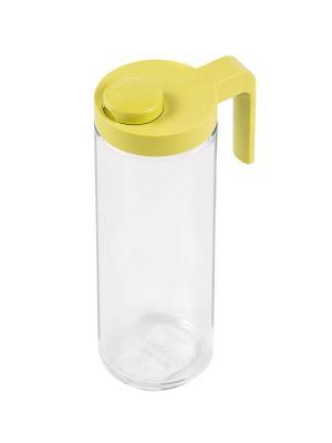 Бутылка Glasslock IP-609S для масла зеленая 1050мл. Цвет: зеленый