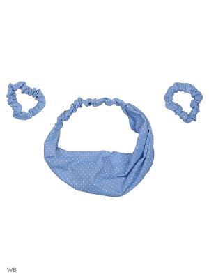 Набор аксессуаров для волос adress. Цвет: синий