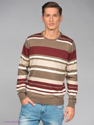 Джемпер RETIEF. Цвет: коричневый, бежевый, бордовый