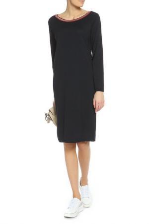 Платье BE…TWEEN. Цвет: темно-синий