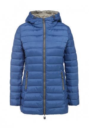 Куртка утепленная Minority. Цвет: синий