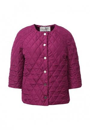 Куртка утепленная Tutto Bene. Цвет: фуксия