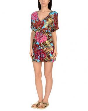 Пляжное платье MISS BIKINI. Цвет: фуксия