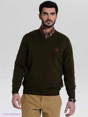 Пуловер Claudio Campione. Цвет: хаки