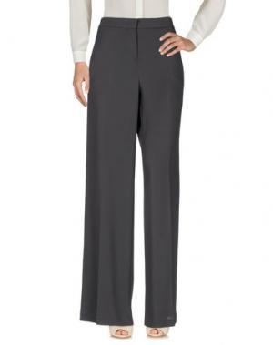 Повседневные брюки GOTHA. Цвет: стальной серый