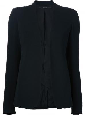 Пиджак без застежки Jeffrey Dodd. Цвет: чёрный