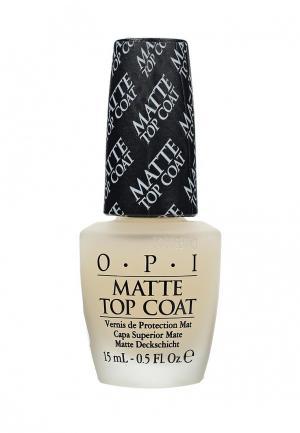 Топовое покрытие O.P.I. Цвет: белый