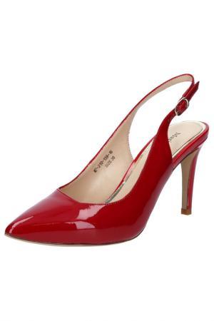 Туфли MARIO PONTI. Цвет: красный