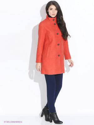 Пальто TOM FARR. Цвет: оранжевый