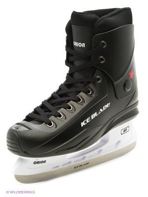 Коньки хоккейные ICE BLADE Orion,ICE. Цвет: черный