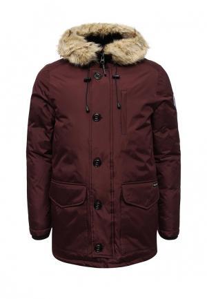 Куртка утепленная Paragoose. Цвет: бордовый