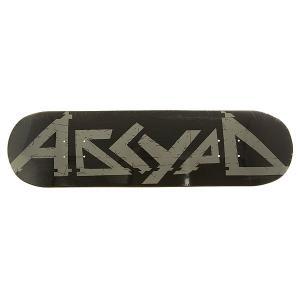 Дека для скейтборда  Logo 2 Black 31.5 x 8.125 (20.6 см) Absurd. Цвет: черный