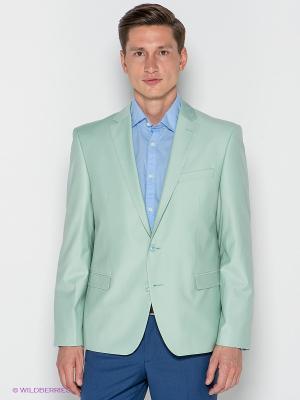 Пиджак ABSOLUTEX. Цвет: светло-зеленый