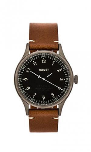 Часы jpt-pw36 Tsovet. Цвет: коричневый