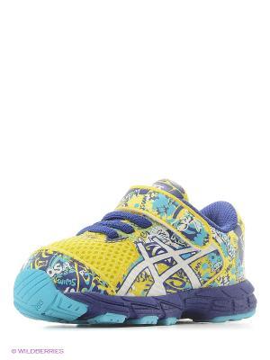 Кроссовки NOOSA TRI 11 TS ASICS. Цвет: синий, голубой, желтый