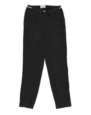 Повседневные брюки BELLEROSE KIDS. Цвет: свинцово-серый