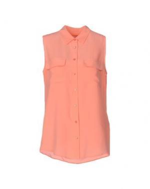 Pубашка EQUIPMENT FEMME. Цвет: розовый