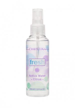 Активная цитрусовая вода Christina. Цвет: белый